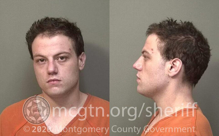 John Randall Herdman arrest by the Montgomery County Sheriff's Office for multiple burglaries in the area.