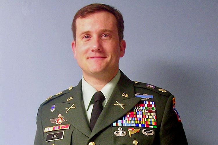 Lieutenant Colonel Peter Lind. (APSU)