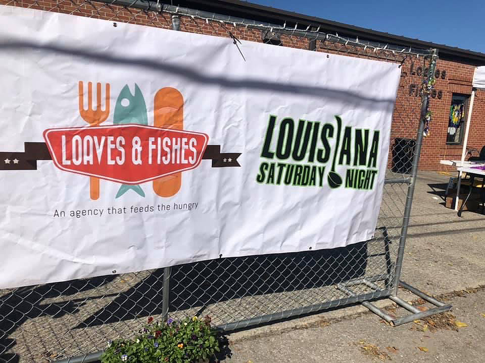 Louisiana Saturday Night fundraiser for Loaves and Fishes