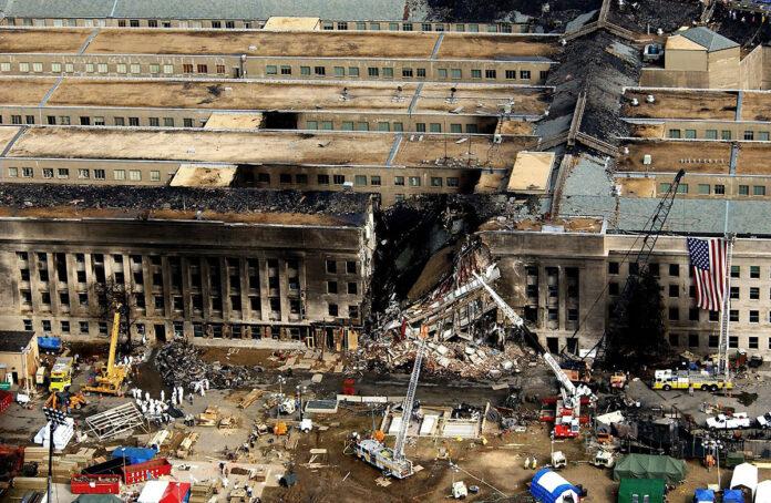 Pentagon on September 11th, 2001.