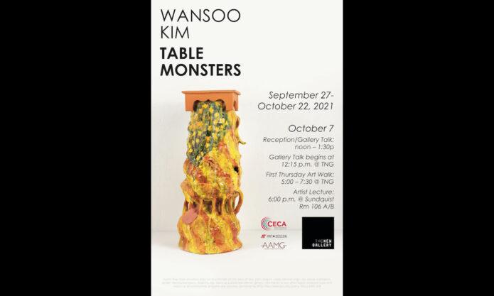 Wansoo Kim - Table Monsters. (APSU)