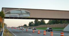 Fort Campbell Bridge on Day 2, side 2.