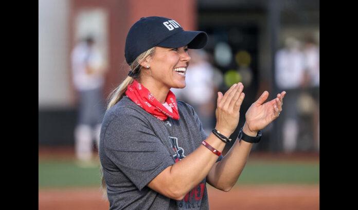 Austin Peay State University softball head coach Kassie Stanfill. (Eric Elliot, APSU Sports Information)