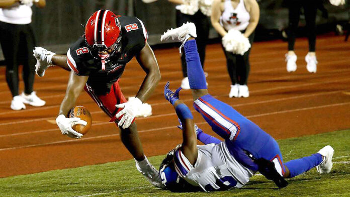Austin Peay State University Football falls to Tennessee State at Fortera Stadium, 24-22. (Robert Smith, APSU Sports Information)