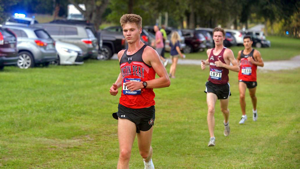 Austin Peay State University Men and Women's Cross Country Teams to compete in Tennessee Tech's Golden Eagle Invitational. (APSU Sports Information)