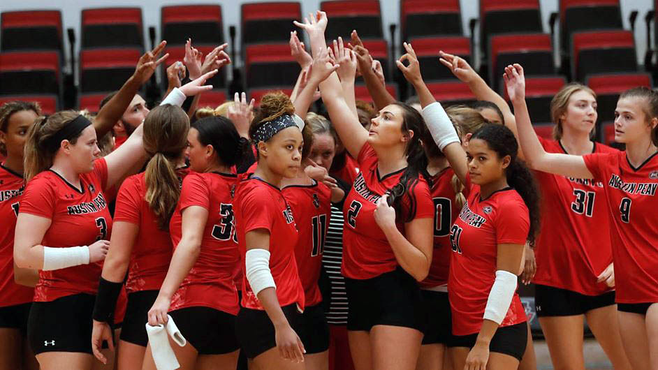 Austin Peay State University Women's Volleyball is on the road Tuesday to take on Bellarmine. (Robert Smith, APSU Sports Information)