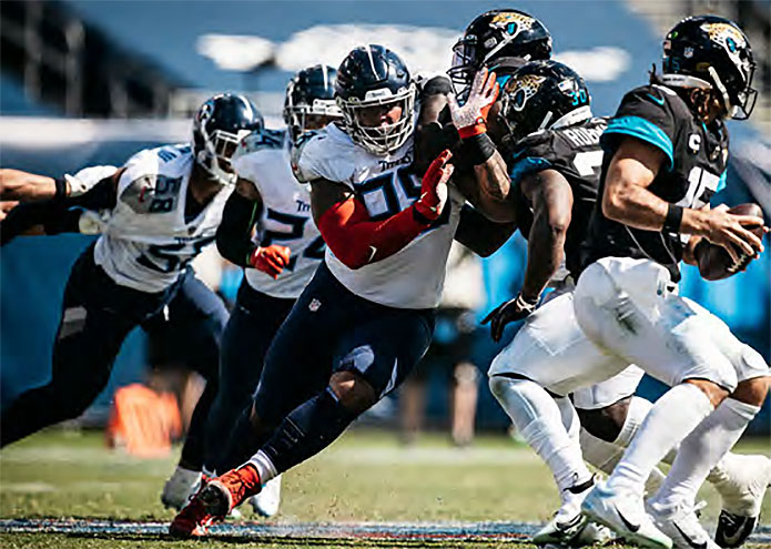 Tennessee Titans face Jacksonville Jaguars in Florida. (Tennessee Titans)