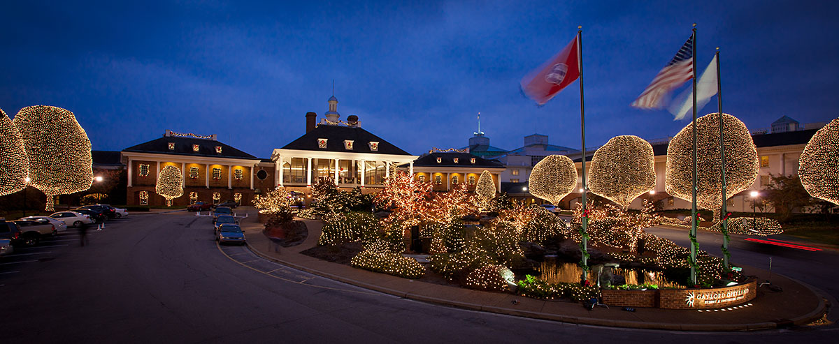 A Country Christmas at Gaylord Opryland - Exterior. (Gaylord Opryland)