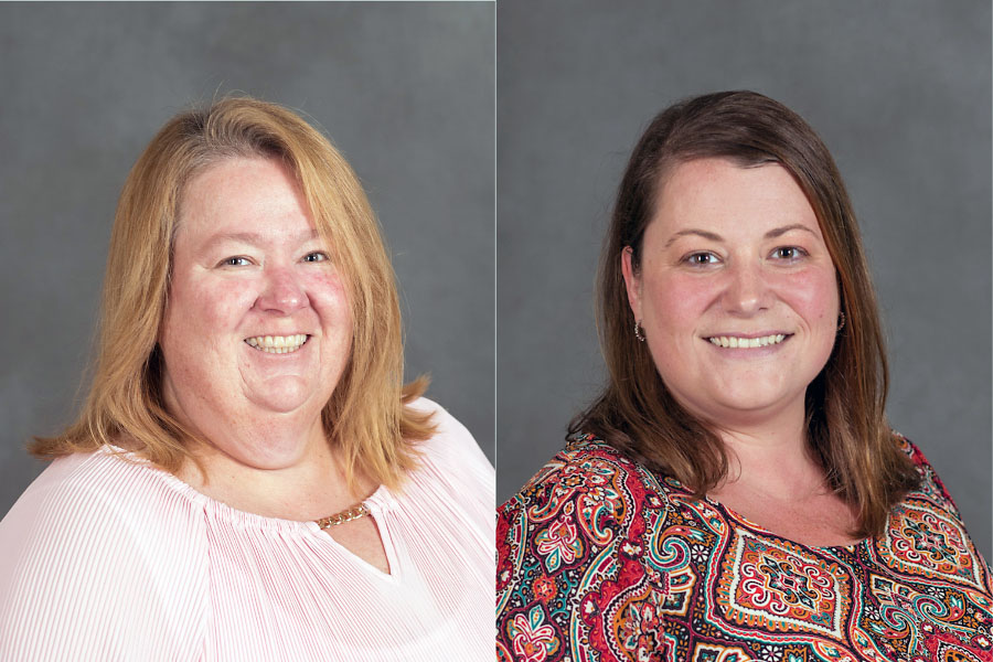 Austin Peay State University professors Dr. Tracy Nichols and Dr. Jessica Morris. (APSU)