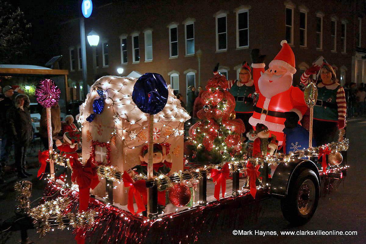 Clarksville Christmas Parade.