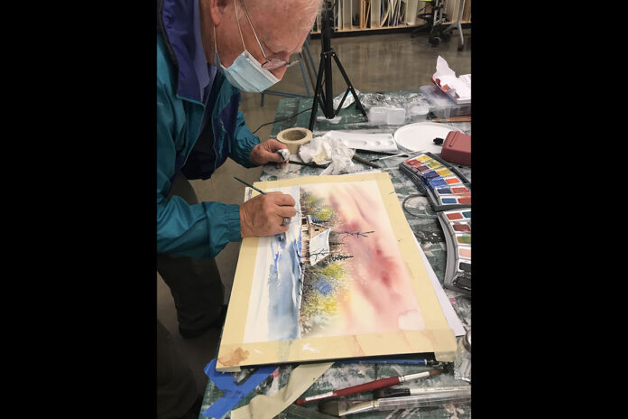 Community School of the Arts at Austin Peay State University Water Color Workshop. (APSU)