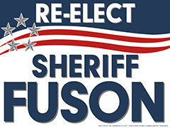 Montgomery County Sheriff John Fuson to run for Re-Election