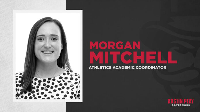 Morgan Mitchell joins Austin Peay State University Student-Athlete Support Staff. (APSU Sports Information)