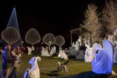 Nativity on Magnolia Lawn at Gaylord Opryland. (Gaylord Opryland)