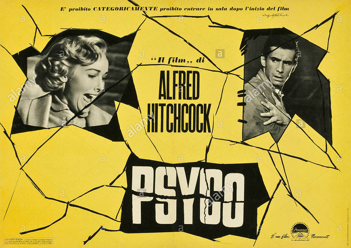 """Alfred Hitchcock's """"Psyco"""" plays at the Roxy Regional Theatre this Sunday."""