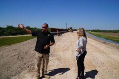 U.S. Senator Marsha Blackburn on the Southern Border in the South Texas Region.