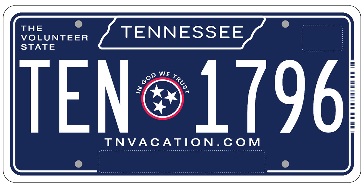 300,000+ Tennesseans cast their vote new License Plate.