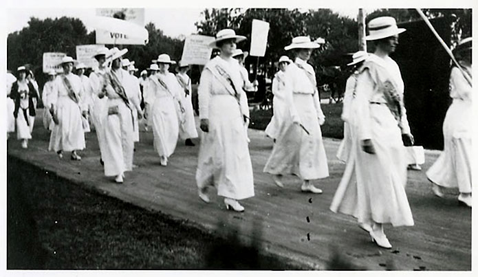 Tennessee suffragists